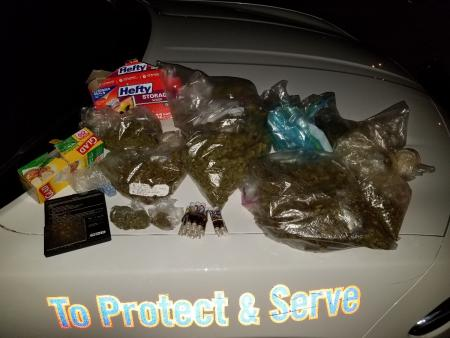 Man Arrested With Over 3 lbs Of Marijuana