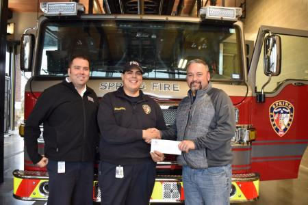 TAFR Helping Local Injured Firefighter