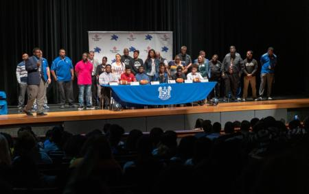 Spring ISD Students Sign Letters Of Intent
